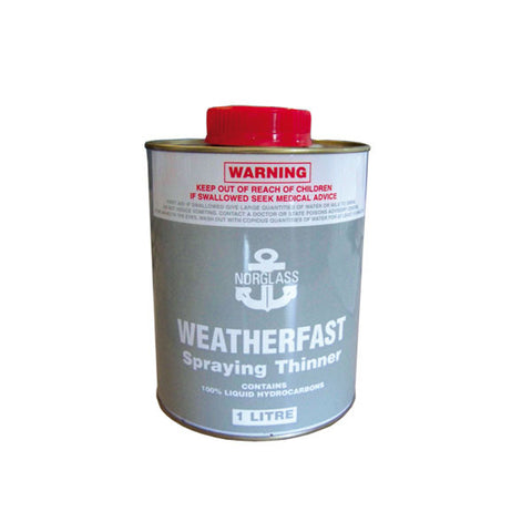 Norglass Weatherfast Spraying Thinners Clear Solvents [product_vendor- Paint World Pty Ltd