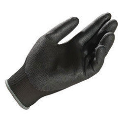 PU Coated Black Gloves 6pk Accessories [product_vendor- Paint World Pty Ltd