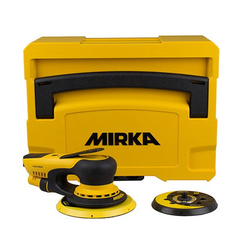MIRKA Deros 5650CV 125/150mm in Yellow Case