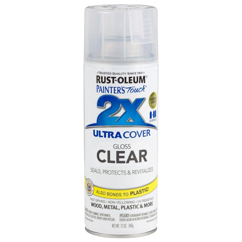 Rustoleum Ultra Cover 2X Clear - Paint World Pty Ltd