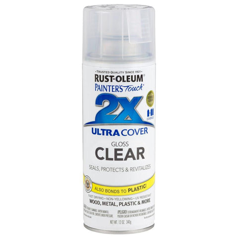 Rustoleum Ultra Cover 2X Clear Spray [product_vendor- Paint World Pty Ltd