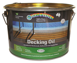 Organoil Decking Oil Jarrah Decking [product_vendor- Paint World Pty Ltd
