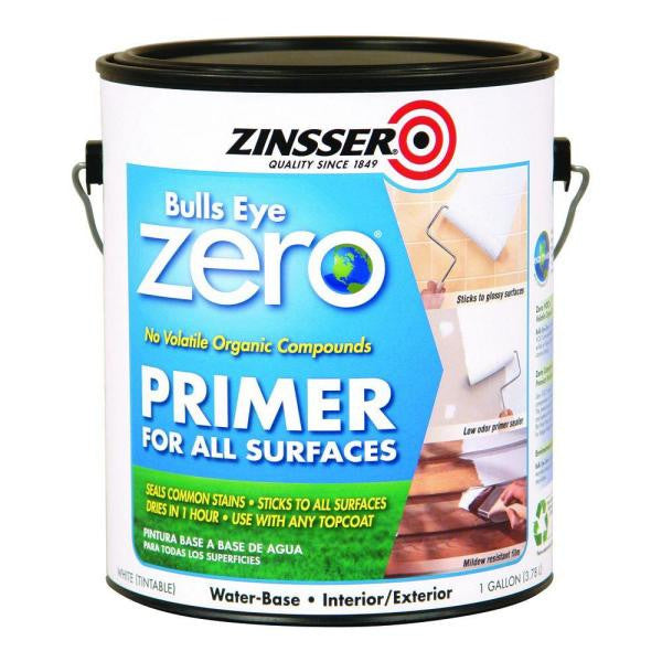 Zinsser bulls eye zero paint world pty ltd for Wallpaper primer home depot