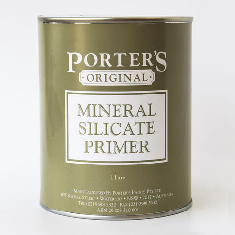 Porters Mineral Silicate Primer Specialty [product_vendor- Paint World Pty Ltd