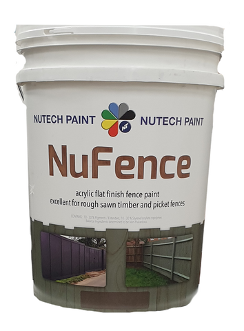 Nutech Nufence Fencing Paint Woodland Grey