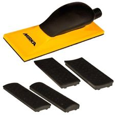 Mirka Sanding Block Kit 70x198mm Grip 40H Yellow
