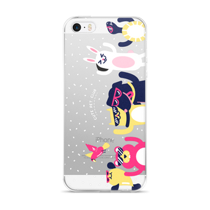 Cute Pet Party iPhone Case