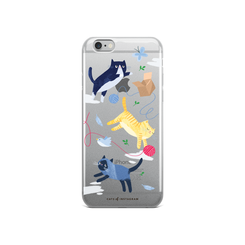Kittens & Things iPhone Case