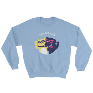 Cute Pet Club Logo Sweatshirt