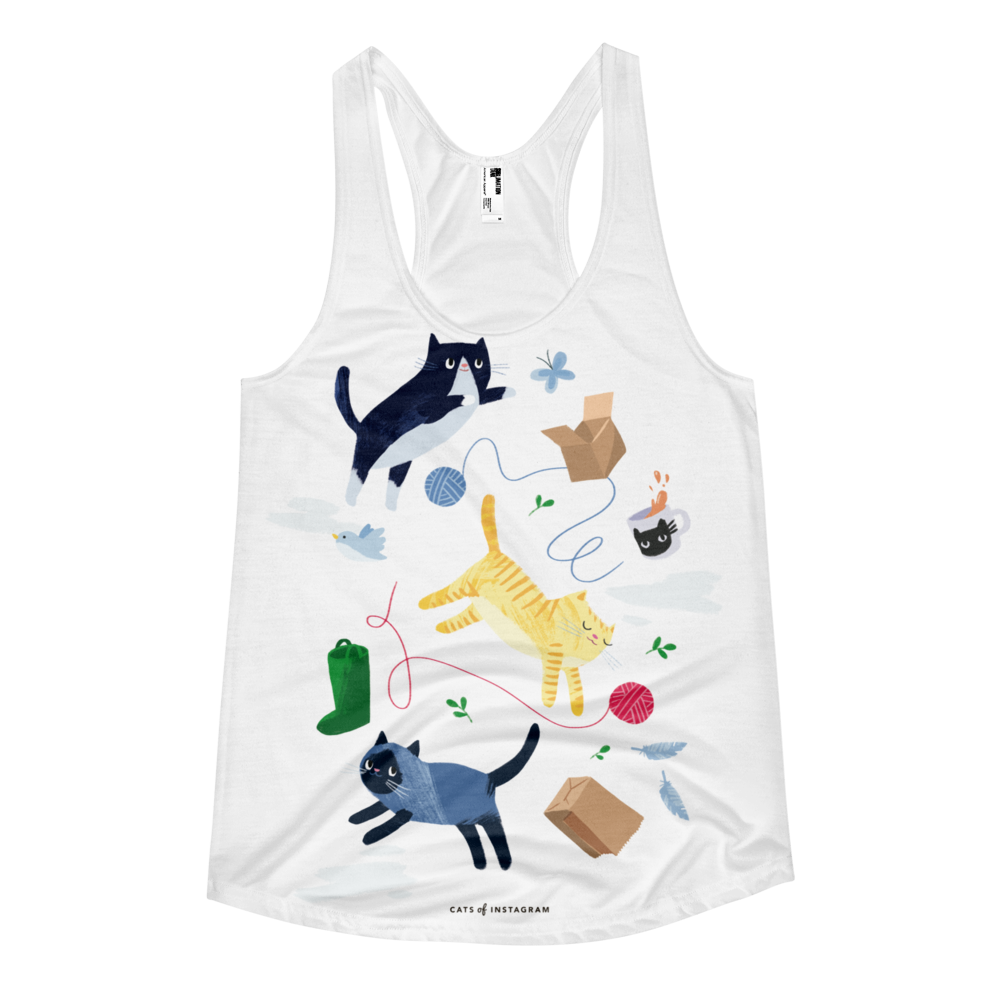 Kittens & Things Tank - CutePetClub