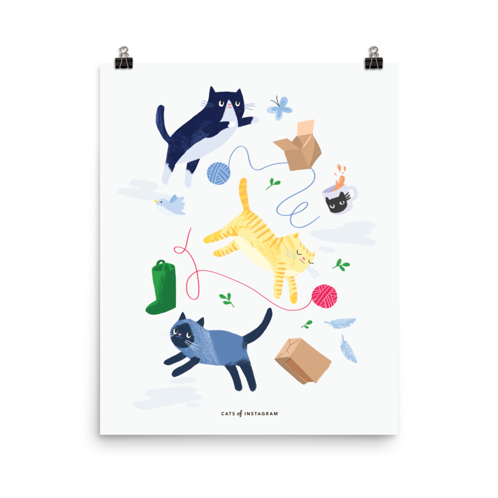 Kittens & Things Poster - CutePetClub