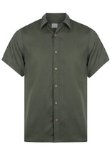 Load image into Gallery viewer, Men's Short Sleeve Voyager Shirt Moss