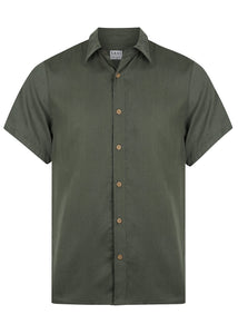 Men's Short Sleeve Voyager Shirt Moss