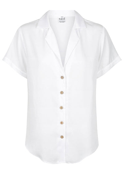 The Nomad Shirt White