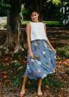 Wilder Wrap Skirt Paper Daisy