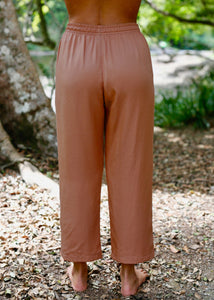 Somewhere Drawstring Pant Clay