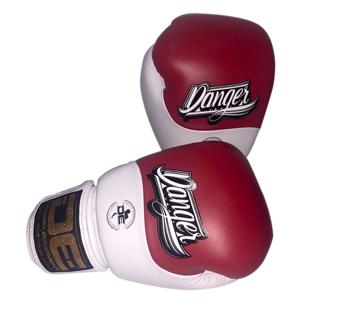 Boxing gloves DEBGE-008 Red/White