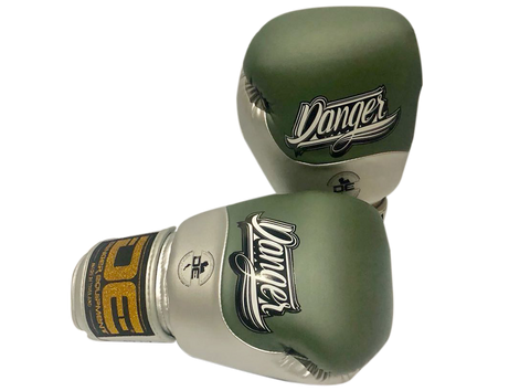 Boxing gloves DEBGE-008 Green Tank/Silver