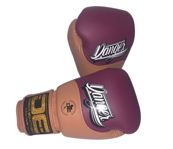 Boxing gloves DEBGE-008 Red Plum/Caramel