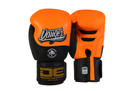 Boxing gloves DEBGE-008 Orange/Black