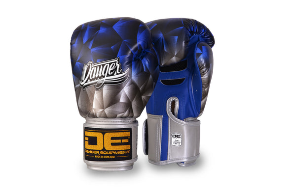 Boxing gloves DEFBG-001 Silver/Blue