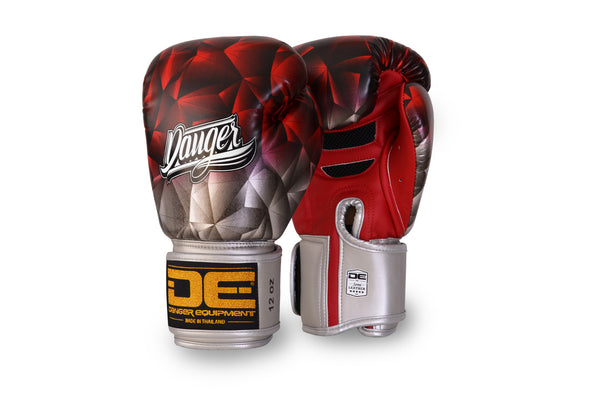 Boxing gloves DEFBG-001 Silver/Red
