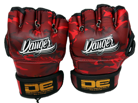 MMA Gloves DEMGCO-001 Army Red