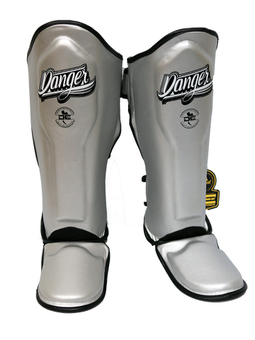 Shin Guards Super Max DESGX-002 Silver