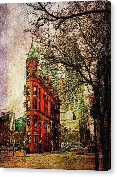 New Art for Sale! - Flatiron Reloaded - Canvas Print