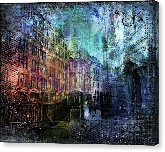 New Art! Jewel Night Canvas Print