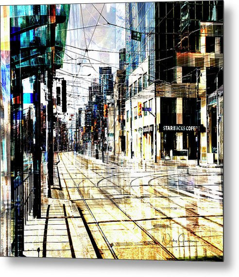 Crossing Spadina - Metal Print