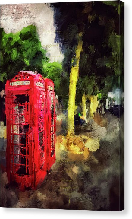 Embankment - Canvas Print