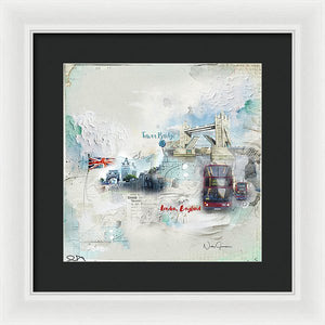 Tower Bridge London - Framed Print
