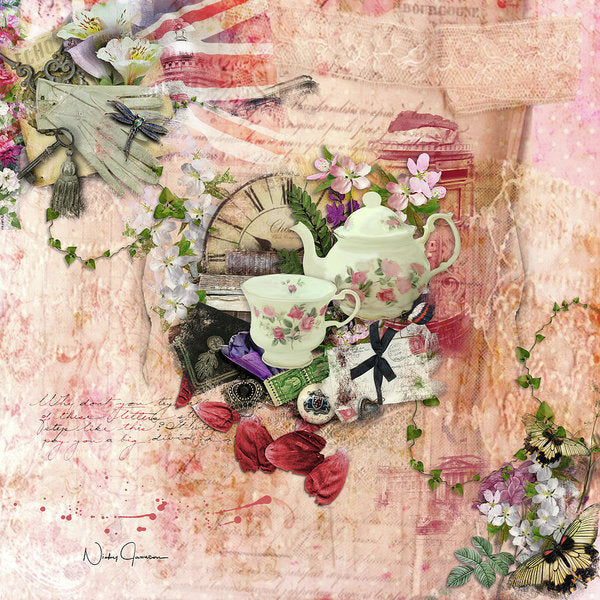 Afternoon Tea - Art Print