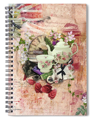 Afternoon Tea - Spiral Notebook