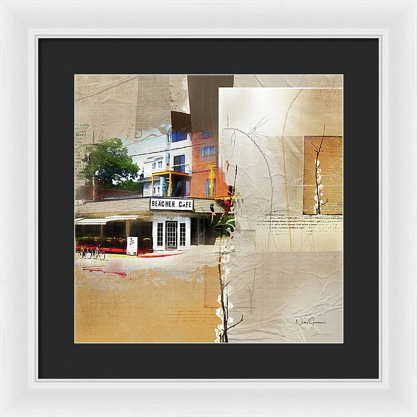 Beaches - Beacher Cafe - Framed Print