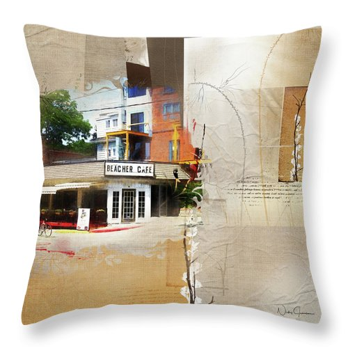 Beaches - Beacher Cafe - Throw Pillow