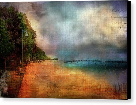 Beaches Evening Light - Canvas Print