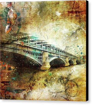 Blackfriars Bridge - Canvas Print