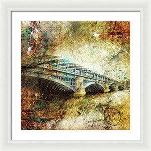 Blackfriars Bridge - Framed Print