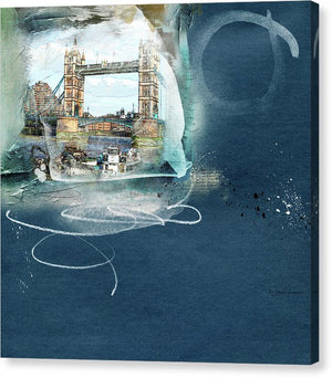 london tower bridge canvas art painting