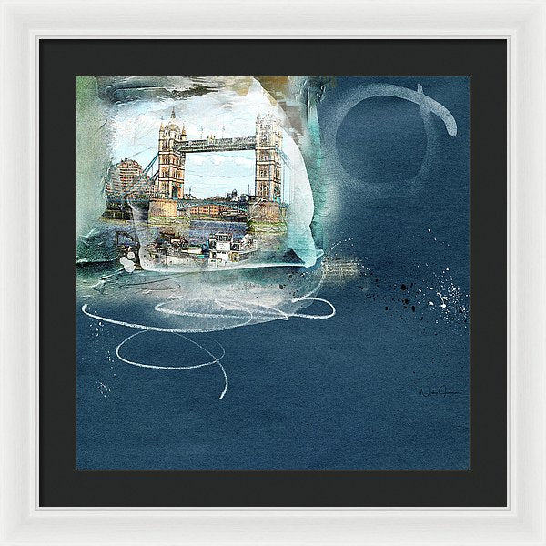 Bridge Of Reflections - Framed Print