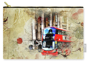 Bus Number 25 To Ilford Passing Mansion House - Carry-All Pouch