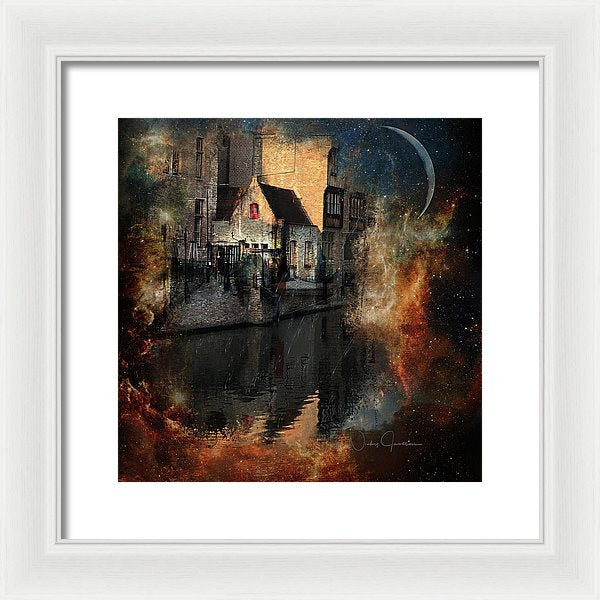 Calm - framed art by Nicky Jameson