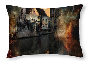 Calm - Throw Pillow