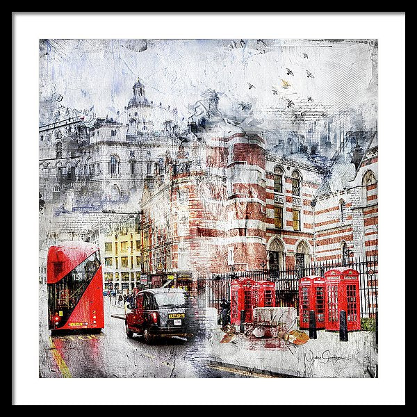 Carey Street - Framed Print