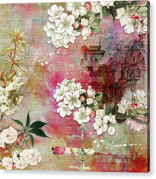 I Know The Cherry Blossom Will Still Bloom - Acrylic Print