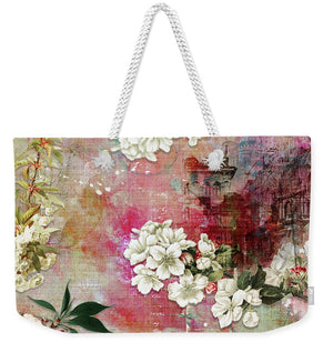 Cherry Blossom Will Bloom - Weekender Tote Bag