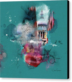 Chvrch- St Paul's Cathedral - Canvas Print