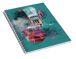Chvrch- - St Paul's Cathedral Spiral Notebook